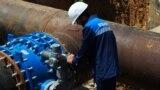 Контроль на стыке водовода, Симферополь