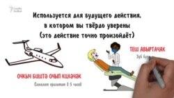 Определённое будущее время в татарском