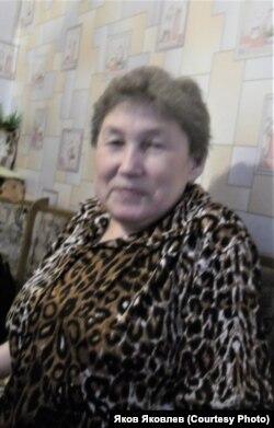 Елизавета Георгиевна Копотилова (Тасманова). 2012 г. Фото: Н.К. Партанов
