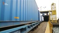 На Одещині запустили перший рейс по «Шовковому шляху» в обхід Росії (відео)