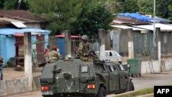 Улицы гвинейской столицы патрулируются военными. Конакри, 5 сентября 2021 года