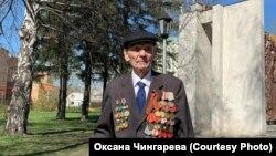 Ветеран войны Петр Чингарев
