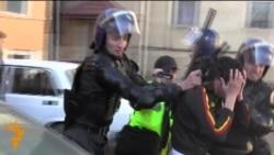 سرکوب معترضان در شهرستان اسماعیللی جمهوری آذربایجان