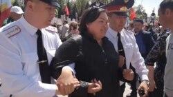 В Алматы на 9 мая задержали мать-одиночку