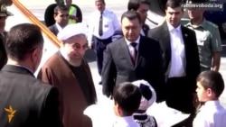 Світ у відео: У столицю Таджикистану прибув президент Ірану