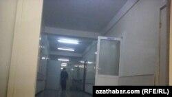 Ашхабаддагы ооруканалардын бири. Январь 2021-жыл