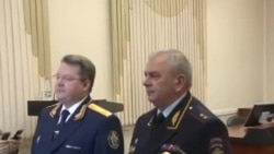 Начальник СУ СК РФ по Омской области Андрей Кондин и начальник УМВД Омской области Юрий Томчак