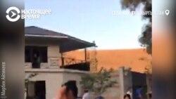 Спецназ ГКНБ Кыргызстана штурмует резиденцию Атамбаева