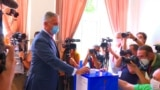 Montenegro's President Votes In Parliamentary Elections