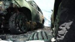 В Донецке неизвестные сожгли 4 автомобиля миссии ОБСЕ