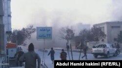 Magnitli bombanyň partlamagy netijesinde iki adam öldi. Kabul, 13-nji dekabr, 2020