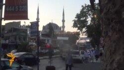 Истанбулда диңгез кырыенда ифтар