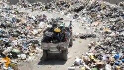 بابل: منطقة سكنية تتحول الى مكب للنفايات