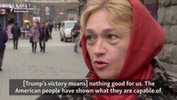 Ukrainians React To Trump's Victory