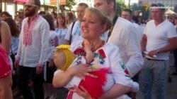 Співочий марш вишиванок пройшов Дніпропетровськом