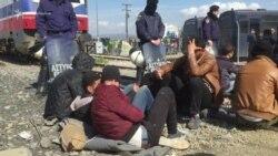 Makedonija: Migranti blokirali željezničku prugu