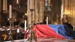 Похороны Вацлава Гавела
