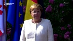 Merkel Begins Her South Caucasus Tour In Georgia