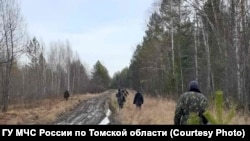 Поисковый отряд в Томской области