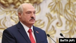 Mass protests have erupted in Belarus against Alyaksandr Lukashenka since election officials declared he had won reelection on August 9. (file photo)