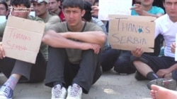 Migrants Launch Hunger Strike In Serbia