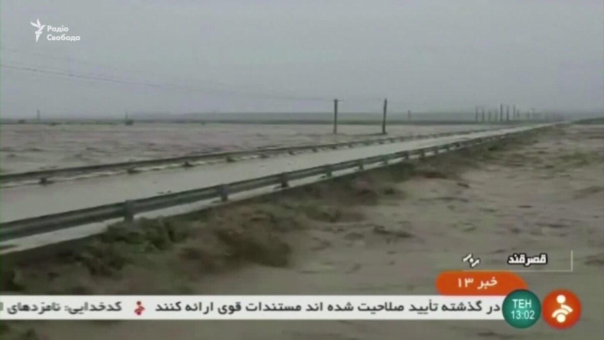 Трое погибли, тысячи пострадали во время наводнения в Иране – видео