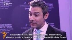 """Damond Wilson: """"Din cauza acţiunilor Federaţiei Ruse deciziile NATO luate în aceste zile reprezintă măsuri pentru a asigura pacea în Est"""""""