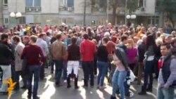 Протест за поддршка на Мирослав Шиповиќ