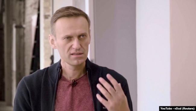 Алексей Навальный. 6 октября 2020 года