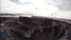"""""""Зенит-Арена"""" с высоты птичьего полета"""