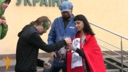 «Ні» видобутку сланцевого газу в Україні – театралізована акція