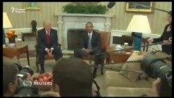 Обама ва Трамп Оқ уйда учрашди