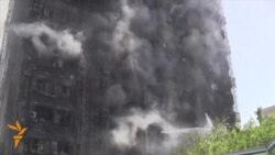 Deadly Fire Destroys Apartment Block In Baku