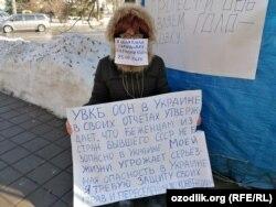 Мустақил журналист Украинадаги қочқинлар масалаларига жамоатчилик эътиборини қаратмоқчи.