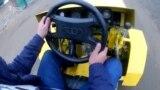 Төрт машинеден куралган кыргыз трактору
