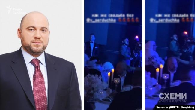 На відео однієї із гостей свята журналісти помітили чоловіка, дуже схожого на народного депутата України від ОПЗЖ Вадима Столара