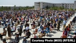 دواطلبان شمولیت در امتحان کانکور شمولیت در اکادمی ملی نظامی افغانستان