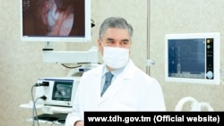 Президент Туркменистана Гурбангулы Бердымухамедов. Фото с вебсайта государственного информационного агентства ТДХ
