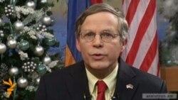 Посол США по-армянски поздравил армян с Новым годом
