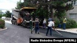 Реконструикција на улици во Битола