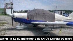 Самолет, на котором незаконно проводились экскурсии в Новосибирске