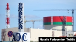 Belarus only began operating the Astravets nuclear power plant last week. (file photo)