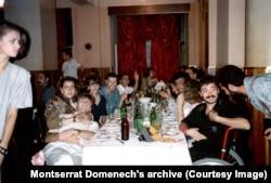 """В ресторане """"Славянский базар"""". 1989 год"""