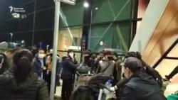 Орусиядан мекенине келе албай жаткан мигранттар