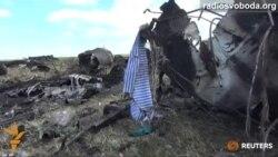 У Луганську збитий український літак Іл-76. Шансів вижити солдати не мали