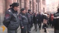 26.01.2015 Упад во татарската телевизија на Крим, протести во Ереван