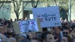 Србија, Црна Гора и Албанија во знакот на антивладини протести