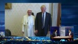 """""""28 минут – это очень мало"""". Что нужно знать о встрече Трампа и папы римского"""
