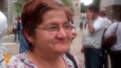 Протест за поддршка на изградбата на црква во центарот на Скопје