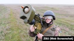 Учения ВСУ близ Крыма